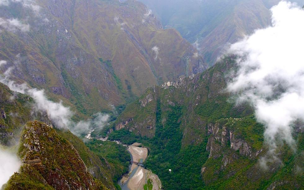 Flusstal Machu Picchu - Peru