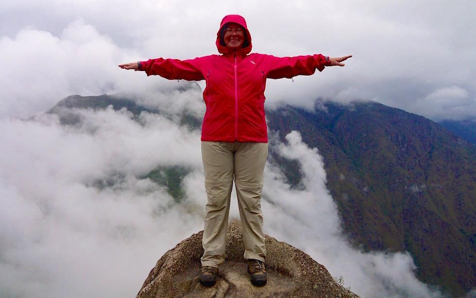 Wayna Picchu auf dem Gipfel - Machu Picchu