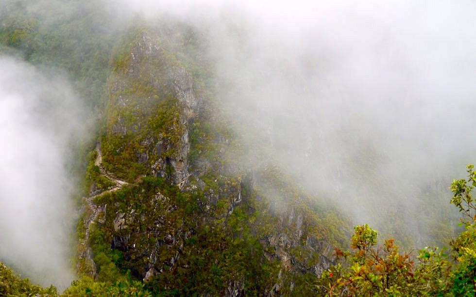 Aufstieg Wayna Picchu - Machu Picchu - Peru