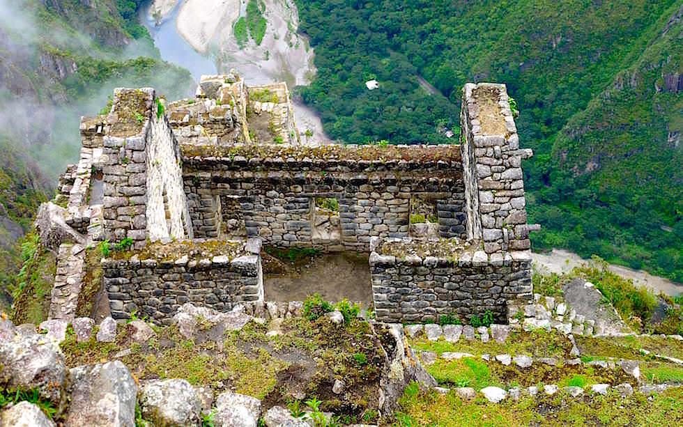 Terrassen auf dem Wayna Picchu - Peru