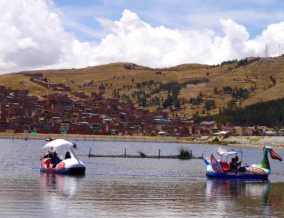 Puno Tretboote Titicaca See - Peru