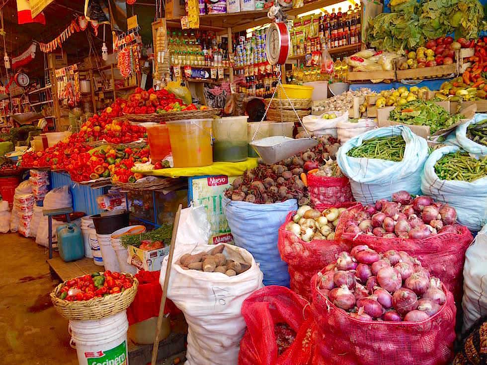 Markthallen Puno - Folklore Puno Titicaca See - Peru