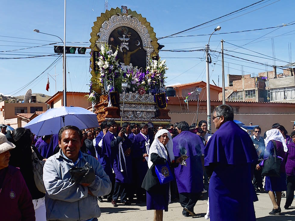 Prozession Festival Puno Titicaca See - Peru