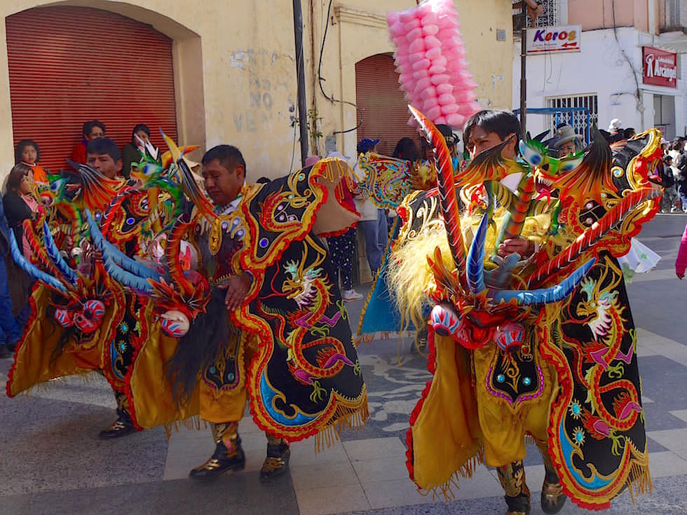 Festival Puno Titicaca See - Peru