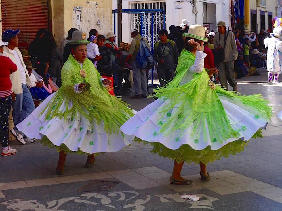 Festival in der Folklore Hauptstadt von Peru - Puno