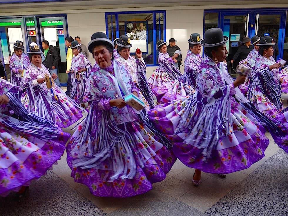 Folklore Hauptstadt - Semana del Puno- Titicaca See - Peru