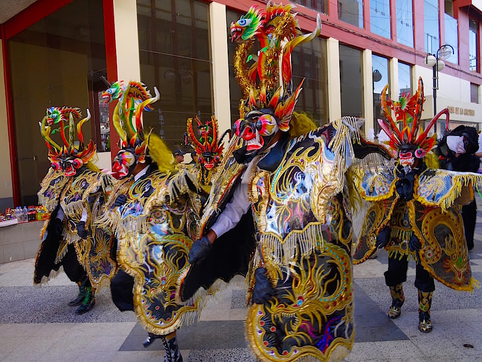 Folklore Hauptstadt Puno Festival am Titicaca See - Peru