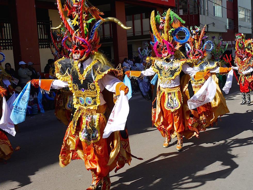 Diablada Festival - Teufelsmasken - Puno Peru