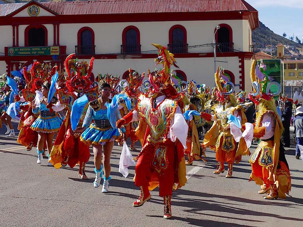 Folklore Festival Puno Titicaca See - Peru