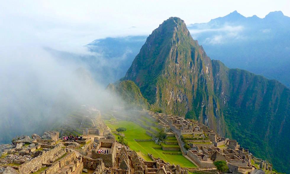 Blick auf Machu Pichhu - Peru