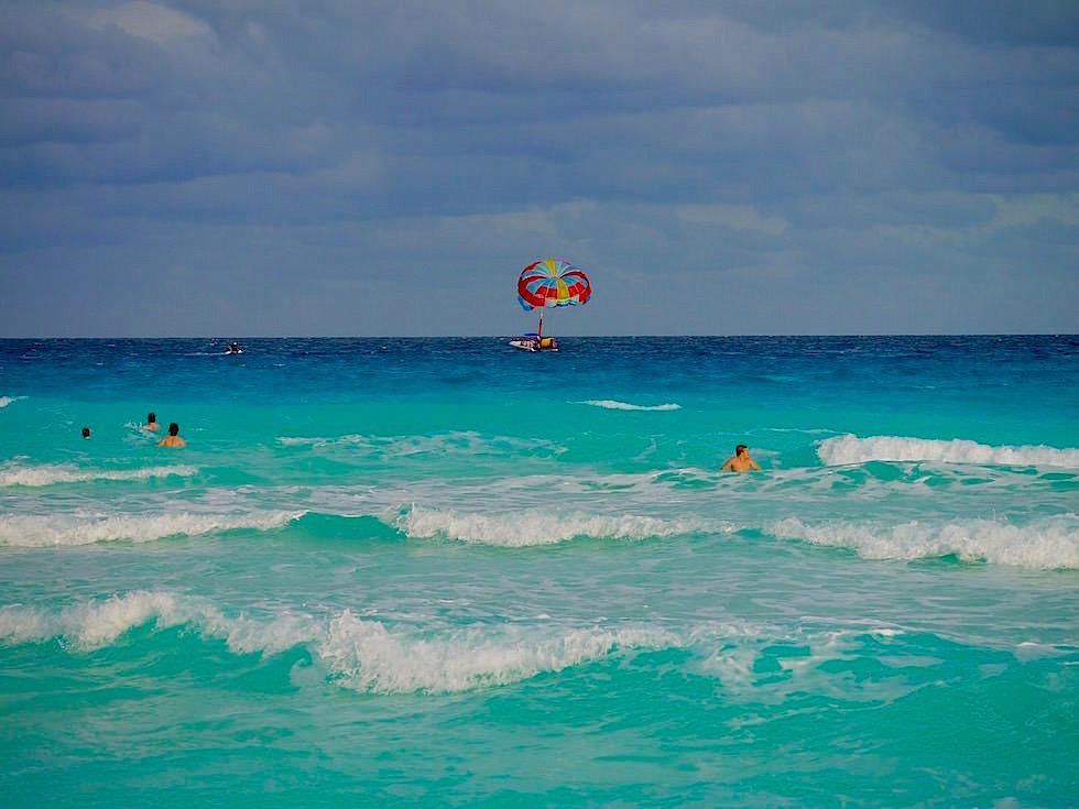 Cancun- Blick auf türkisfarbenes Meer - Yucatan - Mexiko