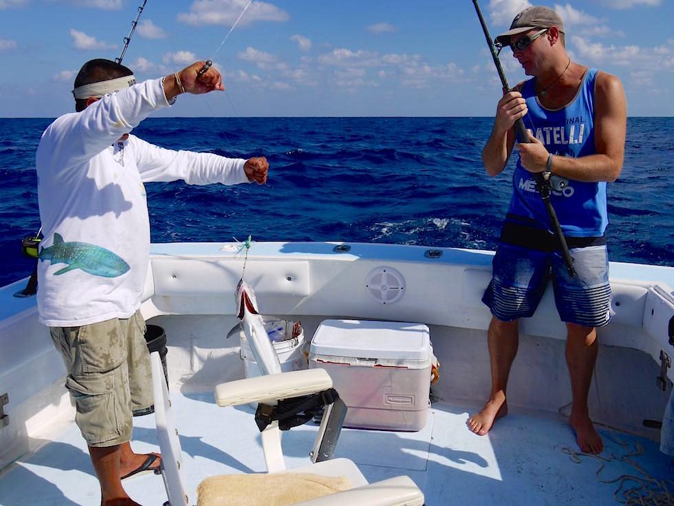 Hochsee-Fischen Tagesausflüge - Isla Mujeres - Yucatan - Mexiko