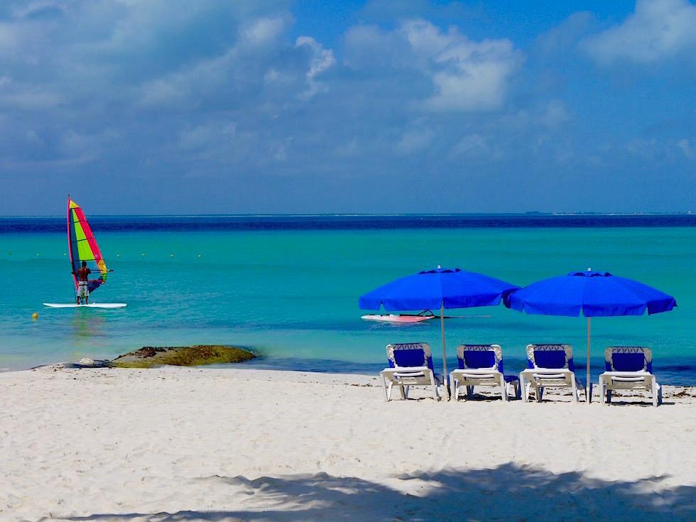 Playa Norte - ein idyllischer Traum-Strand auf Isla Mujeres - Yucatan - Mexiko