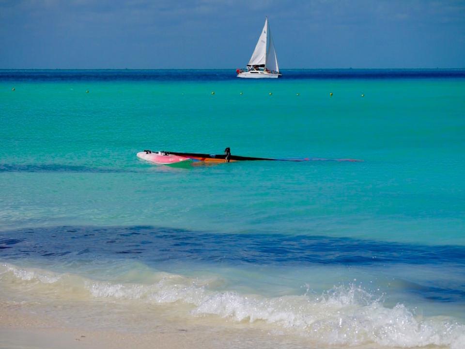 Strand Isla Mujeres Yucatan Mexiko