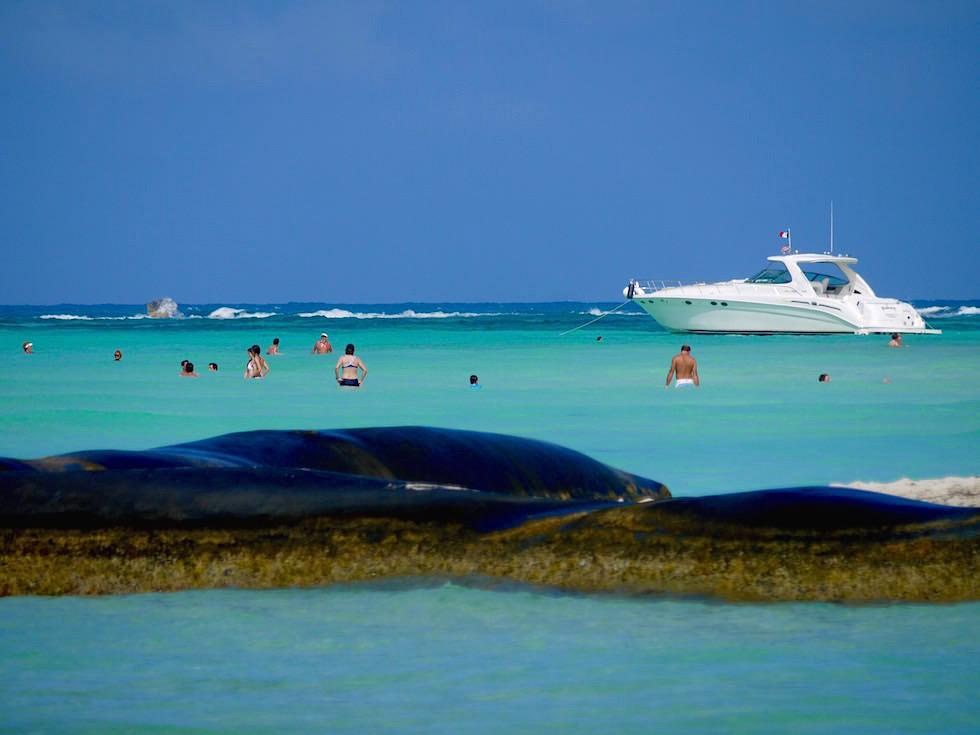 Isla Mujeres: Faszinierender Strand & schwimmen am Playa Norte - Yucatan, Mexiko