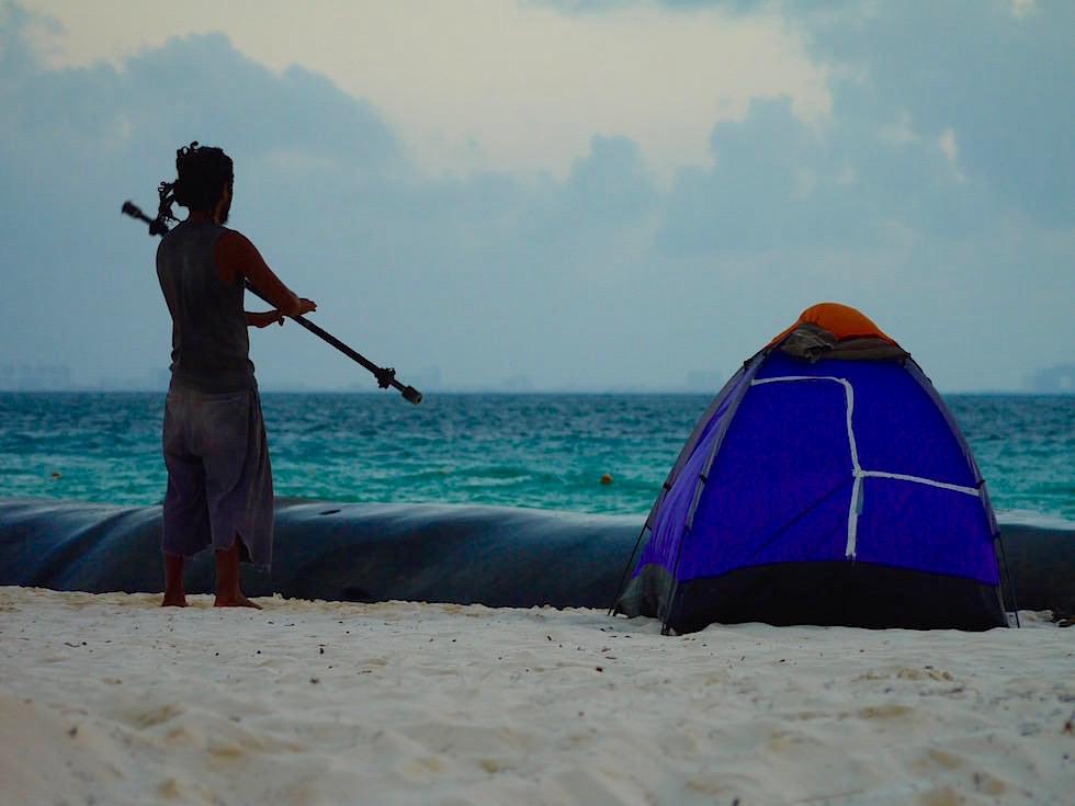 Isla Mujeres - Dämmerung Playa Norte - Yucatan, Mexiko