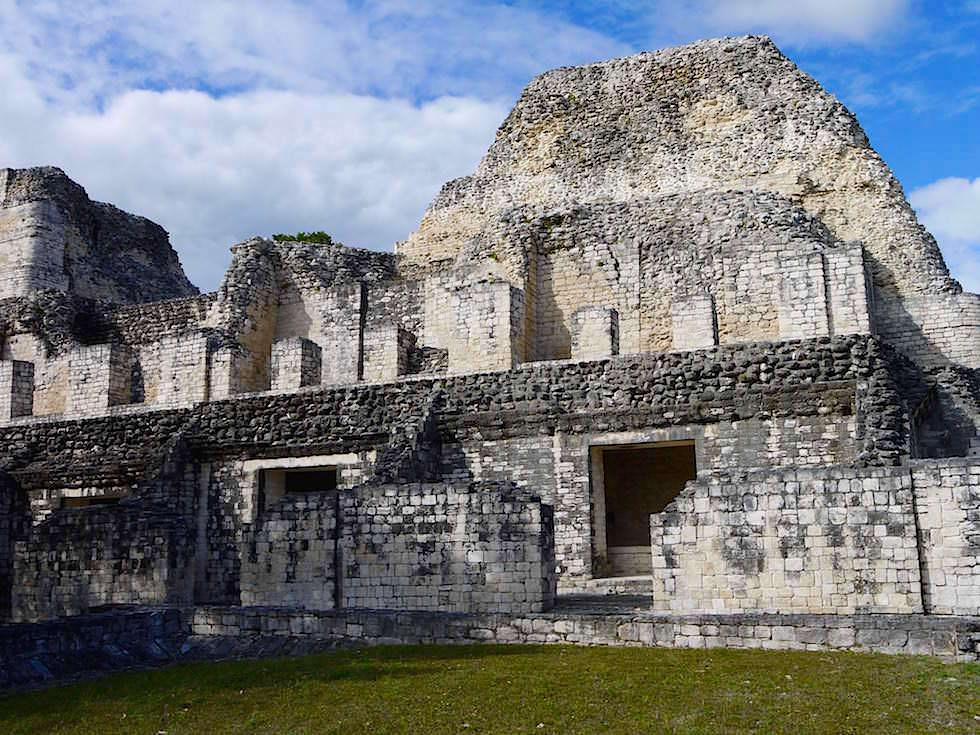 Gebäude I - Maya Stätte von Becan, Campeche - Mexiko