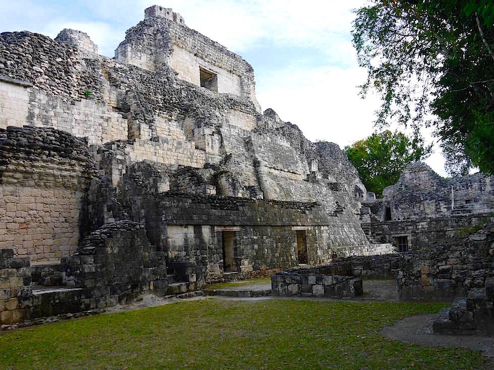 Übersichtskarte - Maya Stätte von Becan, Campeche, Yucatán - Mexiko