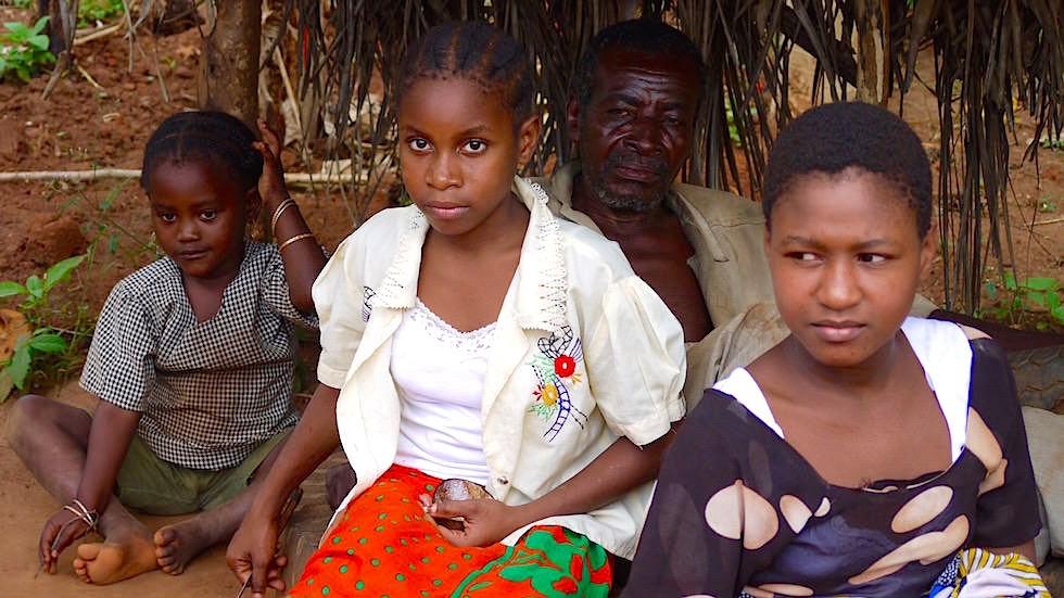 Einheimische Familie - Sansibar - Tansania, Afrika