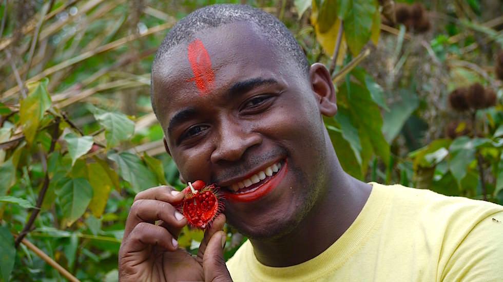 Spice Tour - ein Highlight auf Sansibar - Lippenstift Pflanze