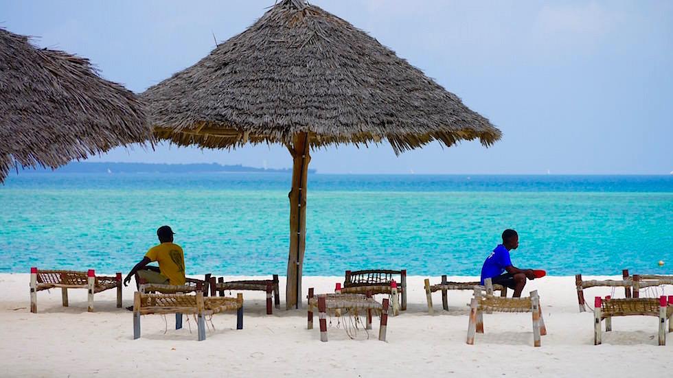 Kendwa Beach - die schönsten Strände von Sansibar - Tansania, Afrika