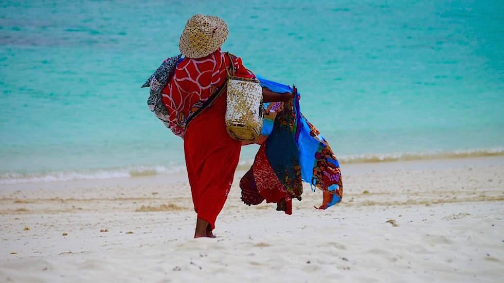 Kendwa Beach & seine Strandverkäufer - Sansibar - Tansania, Afrika