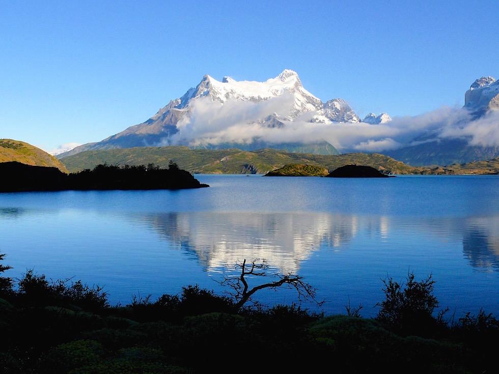 Lago Pehoe - Blick vom Campingplatz - Torres del Paine Nationalpark - Patagonien, Süd-Chile