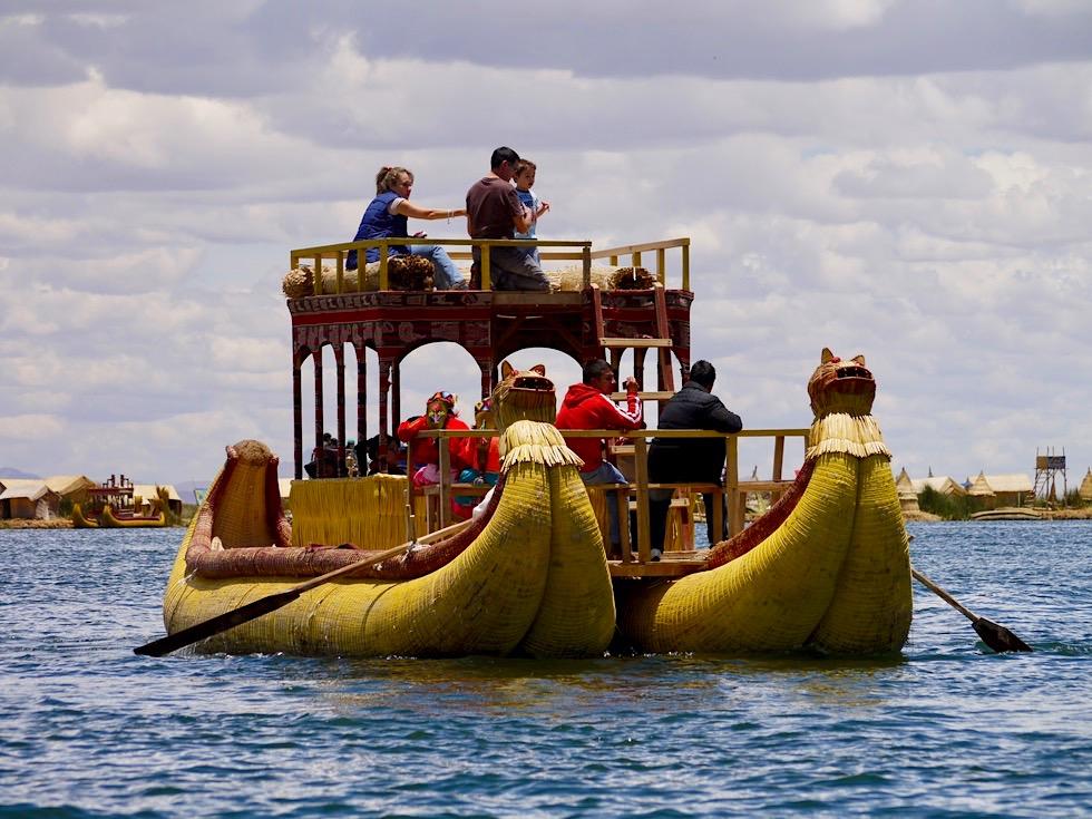 Titicaca See - Touristenattraktion: Islas Uros & die Touren zu den Inseln - Peru