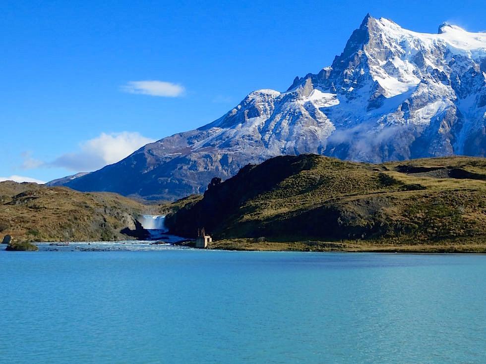 Lago Pehoe - Salto Grande - Torres del Paine Nationalpark - Patagonien, Süd-Chile