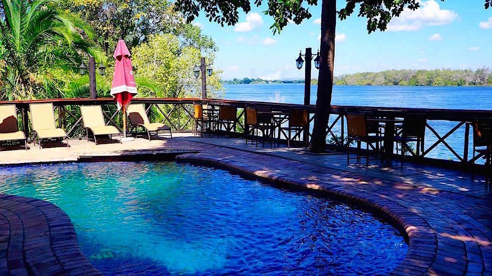 Waterfront Zambezi Camp Livingstone Victoria Falls Zambia, Afrika