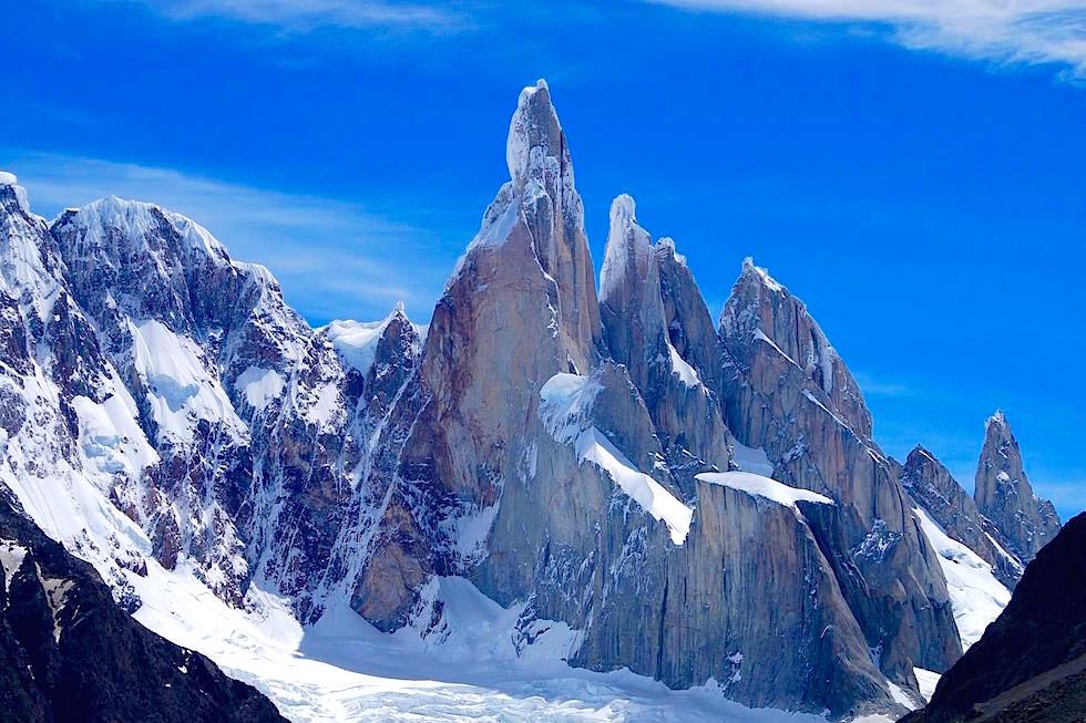 Blick auf den Cerro Torre & Cerro Egger - Patagonia - Argentinien