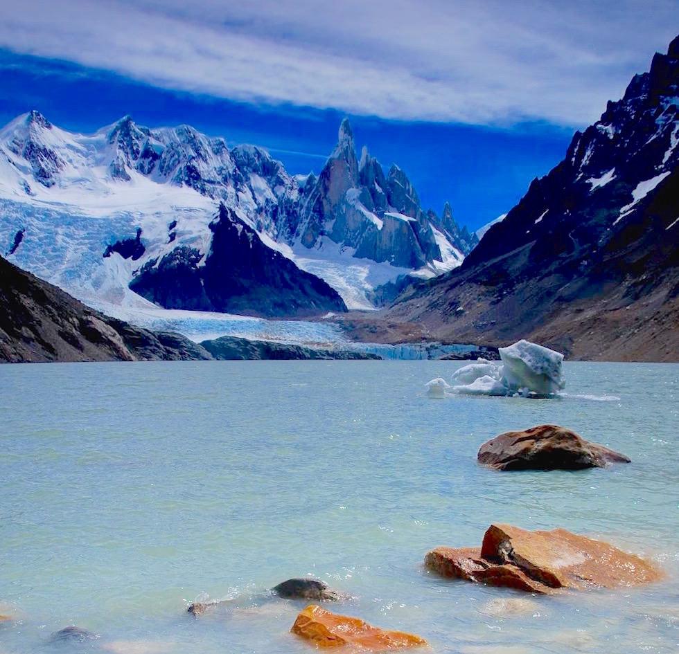 Cerro Torre von Laguna Torre aus gesehen - Patagonien