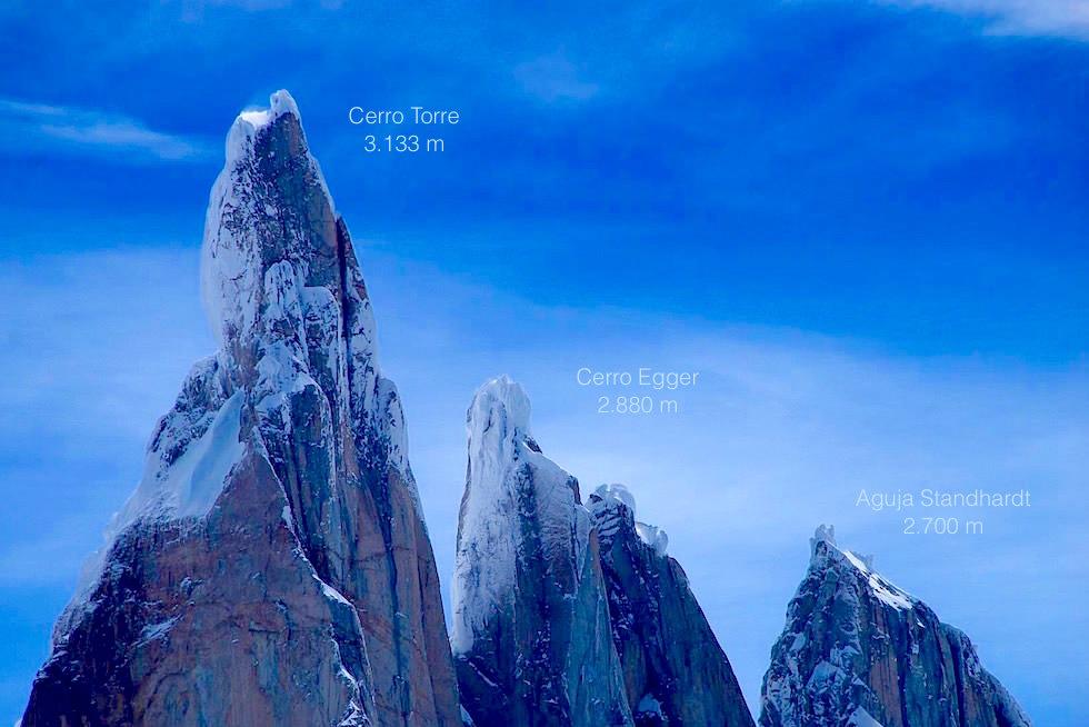 Cerro Torre - Cerro Egger - Patagonia Argentinia