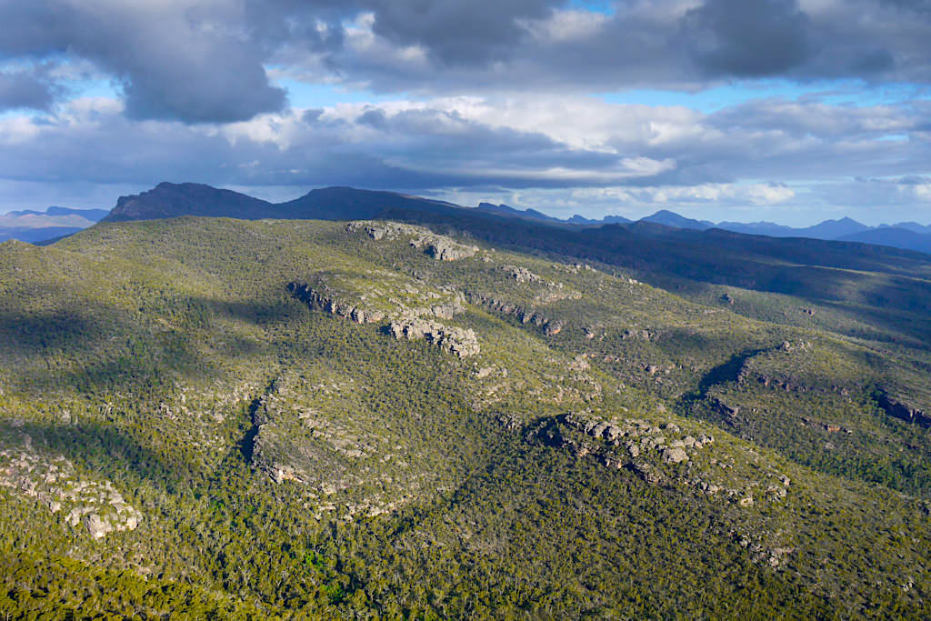 The Balconies - Ausblick auf Victoria Range - Grampians Nationalpark Highlights - Victoria - Australia