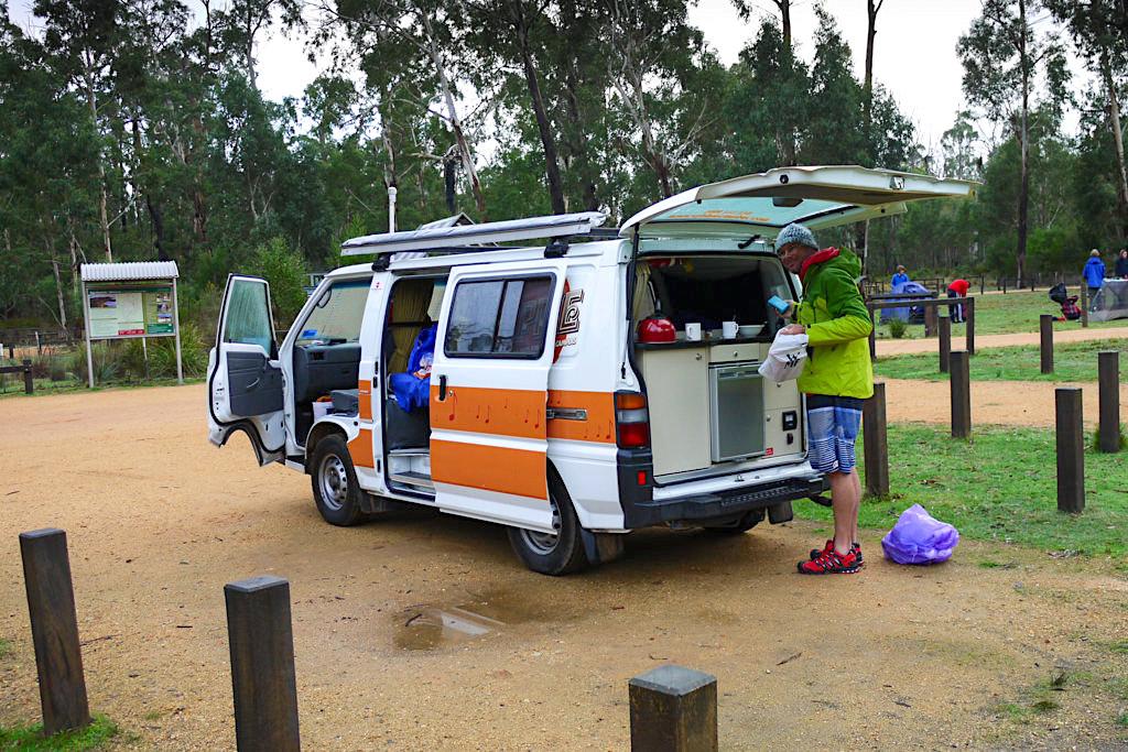 Einfache Campgrounds inmitten des Grampians Nationalparks - Victoria - Australien