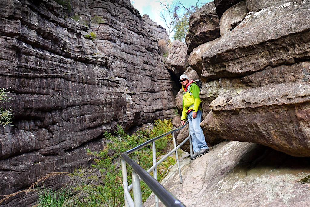 Grand Canyon der Grampians - Wanderung zum spektakulären Pinnacle Lookout - Victoria - Australien