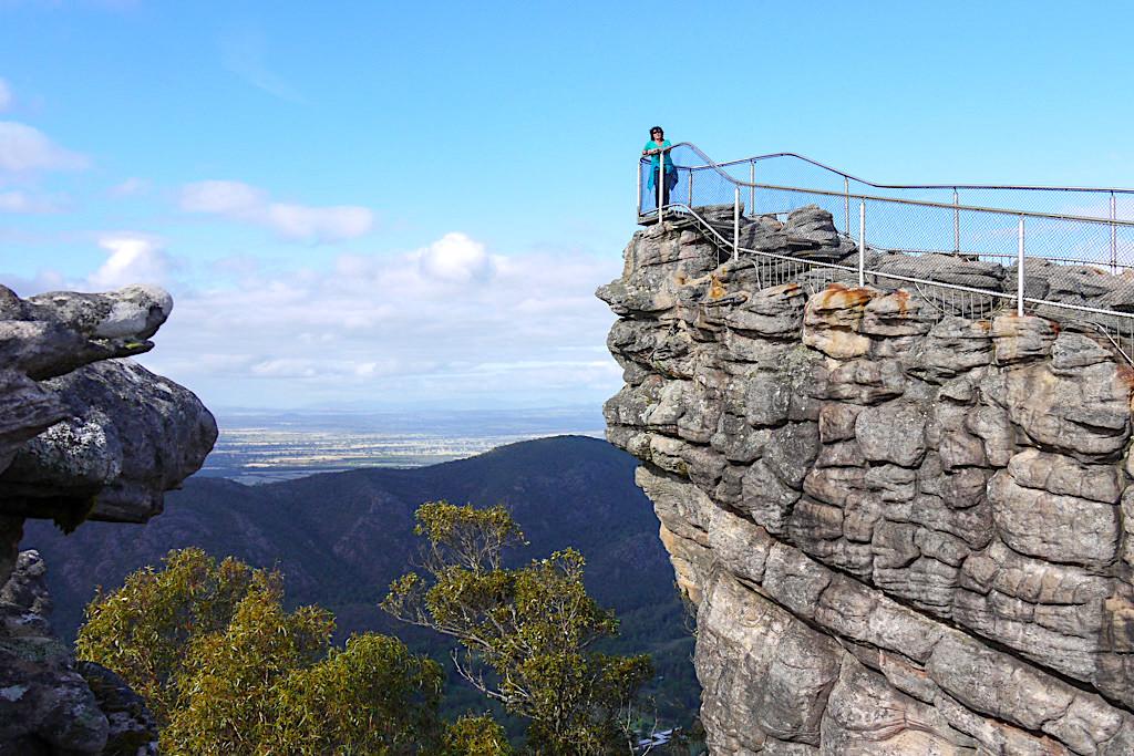 Grandioser Ausblick vom Pinnacle Lookout, dem eindrucksvollstes Grampians Nationalpark Highlight - Victoria - Australien