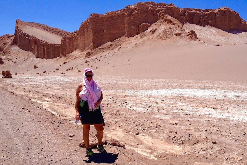 Mondtal in der Mittagshitze - Valle del la Luna - San Pedro de Atacama