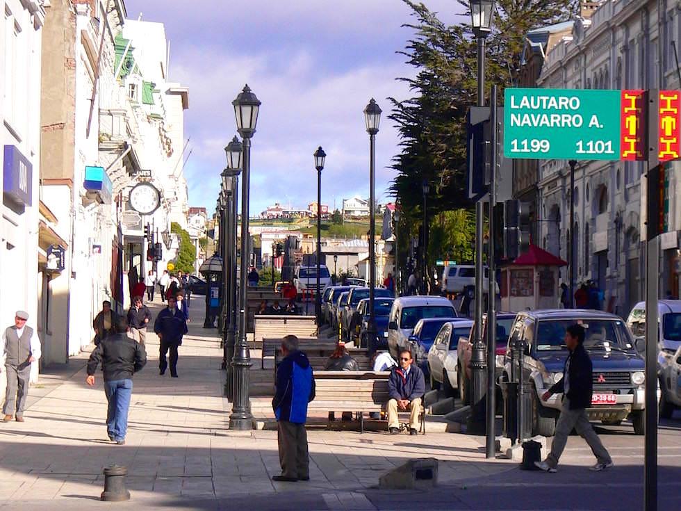 Stadtbild Punta Arenas - Chile Patagonien