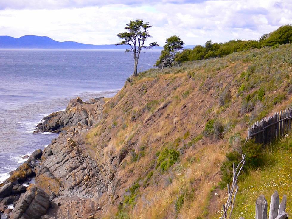 Ausblick bei Fuerte Bulnes - Punta Arena - Chile Patagonien
