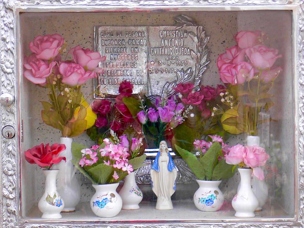Grabnischen Punta Arenas Friedhof - Chile Patagonien