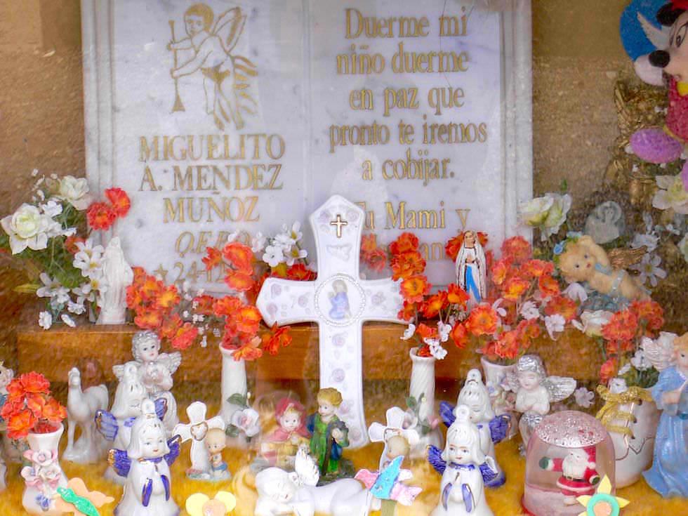 Gräber Punta Arenas Friedhof - Chile Patagonien