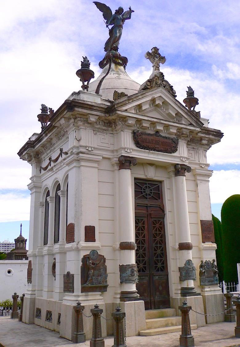 Mausoleum Menendez auf dem Punta Arenas Friedhof - Chile Patagonien