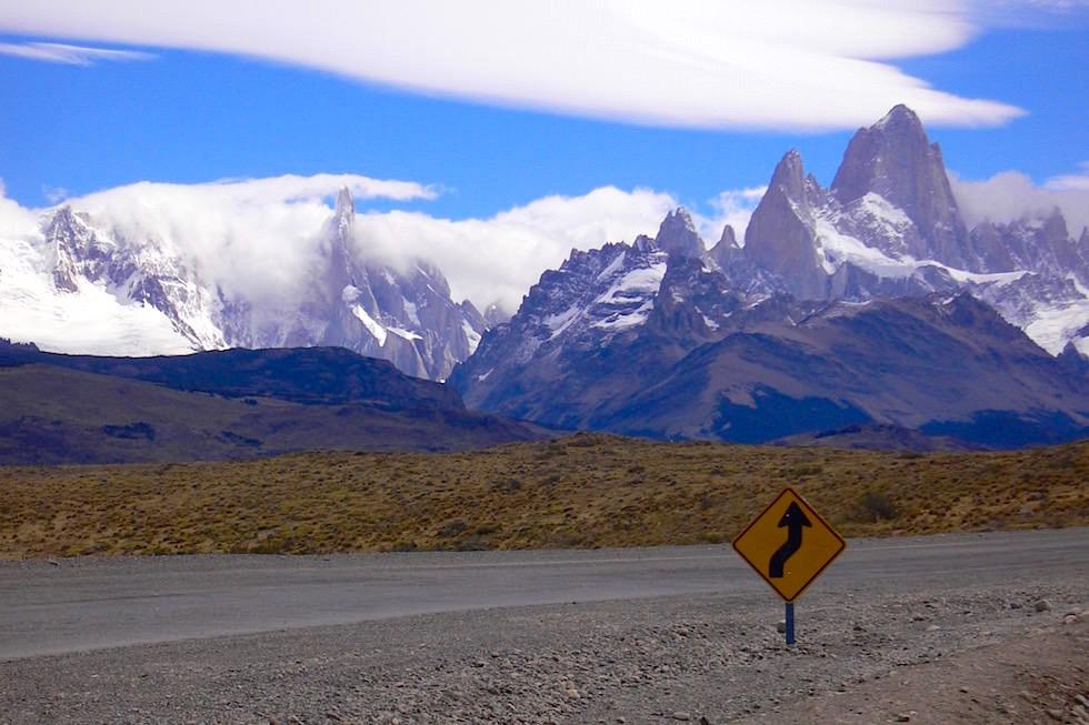 Fitz Roy Cerro Torre - Patagonia im Los Glaciars NP Argentinien