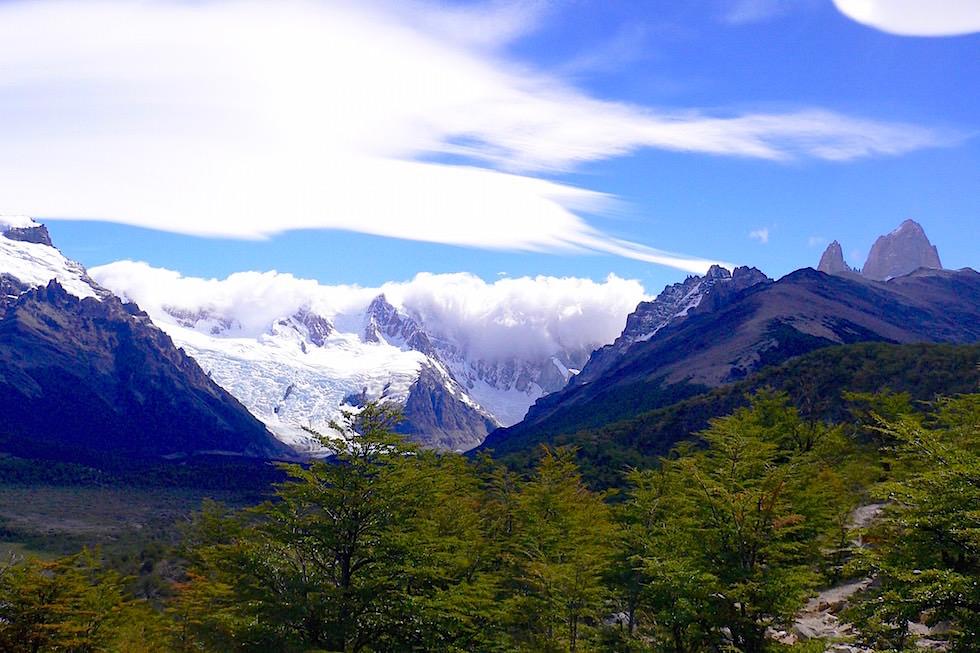 Cerro Torre Wanderung Mirador Torre - Patagonien, Argentinien