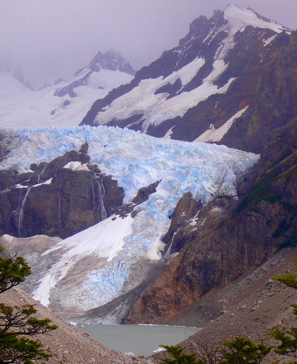 Gletscher Fitz Roy - Patagonien Argentinien