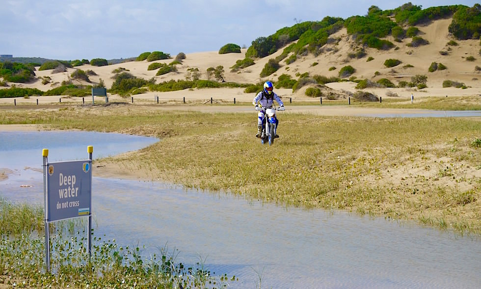 Enduro fahren Sanddünen Port Stephens New South Wales