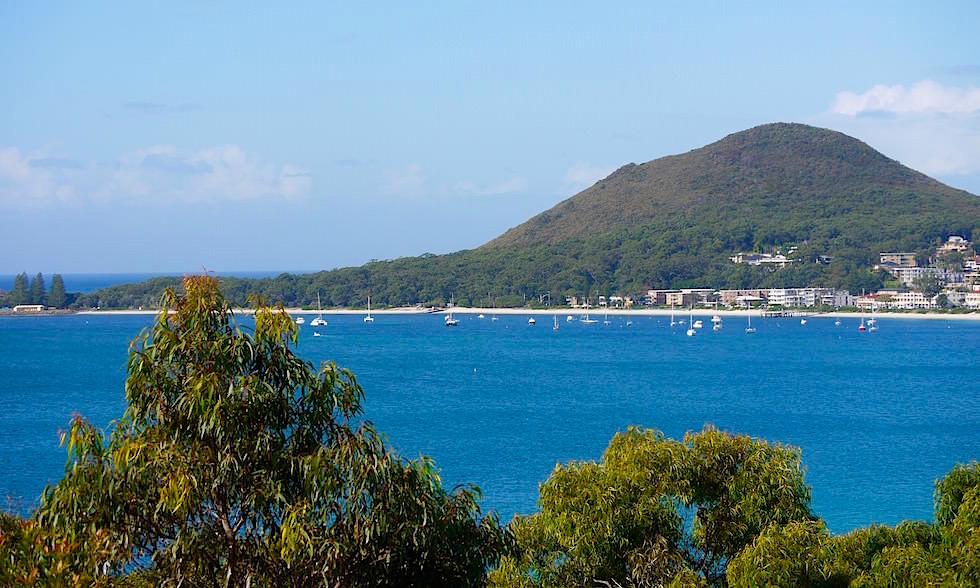 Blick auf Shoal Bay - Port Stephens - NSW