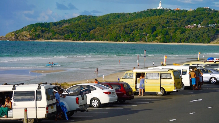 Blick auf den Main Beach - Byron Bay - New South Wales