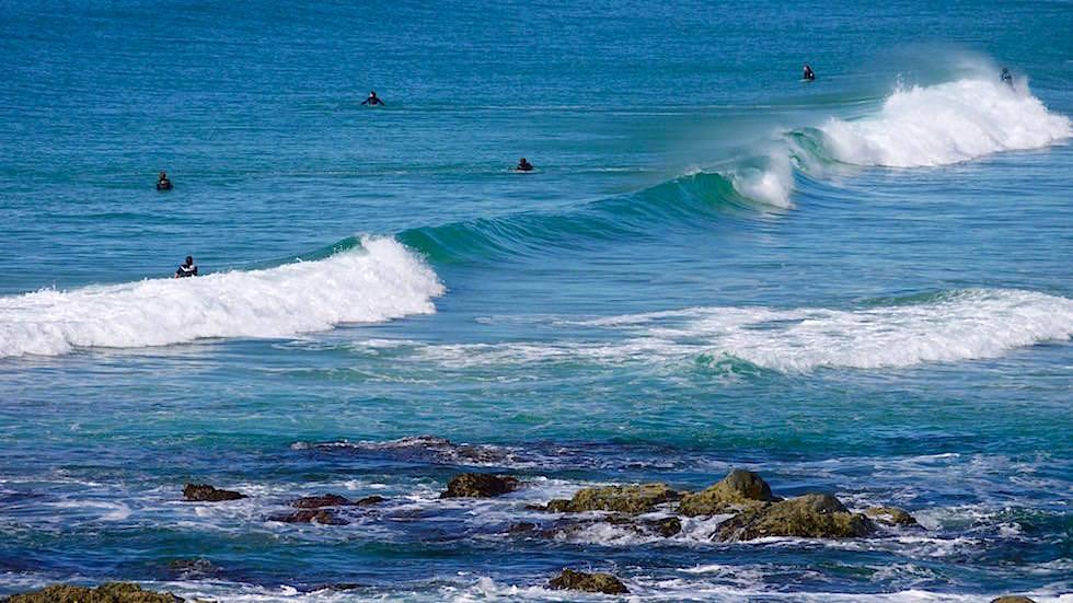 Surfen bei Bonville Head - Sawtell New South Wales